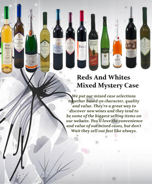 Mixed Red and white wines